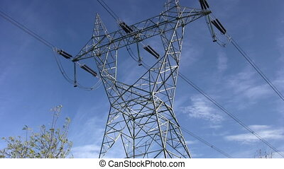 Electricity Pylon Time- Lapse
