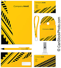 Template vector background; blank, card, cd, note-paper,...
