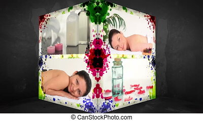 3D Animation-Cube of Wellness Treatments