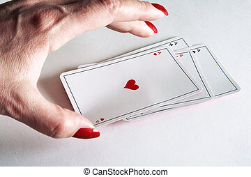 playing cards poker
