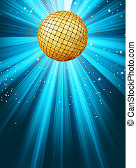 Abstract disco party lights background. EPS 8 - Abstract...
