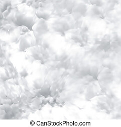 Fresh snow texture Vector art illustration background