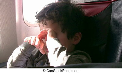 Slepply Passenger - Long Travel and sleeply little boy