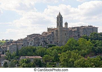 Baschi Terni, Umbria, Italy - Old town