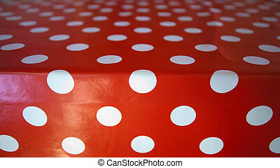 Red tablecloth - Pattern of a red tablecloth, simple design...