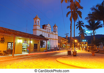 Afternoon Copan in Honduras - Picture of city in Copan after...