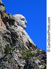 Mount Rushmore Profile View - Profile view of Mount Rushmore...