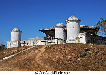 Historical centre of Gracias - Picture of fort of San...