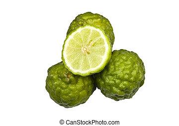 Kaffir Lime - Rough kaffir limes with a bumpy exterior...