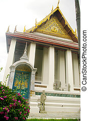 Back of the temple of Wat Ratchabop