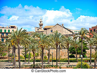 Spain - appearance of the city center The capital of...