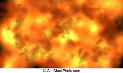 Inferno fire background seamless loop