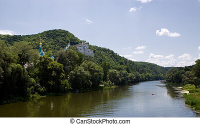 View of The Svyatogorsk Dormition Laura - The Svyatogorsk...