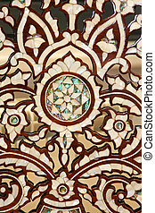 Camel bone pattern - Classic Morrocan patern carved in camel...