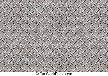 Diamond Plate high resolution seamless texture.