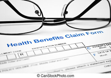 Health claim form