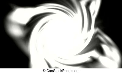 swirl white dazzling ray light and fire in space,energy...