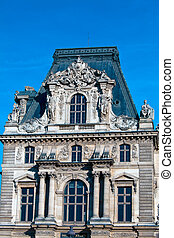 Pavillon Mollien of The Louvre Palace, Paris, France
