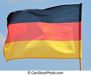 Alemán, bandera