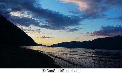 Teletskoe lake 2, Altai, Russia - Teletskoe lake, Altai,...