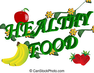 Healthy food  - Abstract healthy food