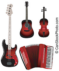 Red instruments