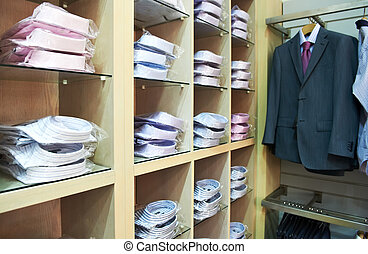 shirts in a shop - shoping sale background theme shirts in a...
