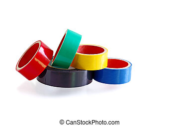 Electirc Tapes - Colorful electric tapes for marking wires...