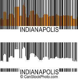 Indianapolis barcode - City of Indianapolis high rise...