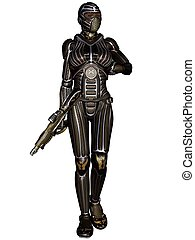 Fantasy Science Fiction Armour
