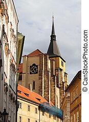 Saint Giles church in Prague