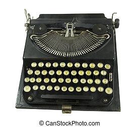 vintage portable typewriter