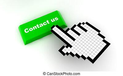 Cursor contact us