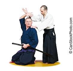 Se entrenar en boxeo, dos, Jiu-jitsu, luchadores