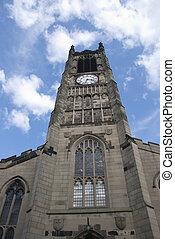 Facade of a Yorkshire Church