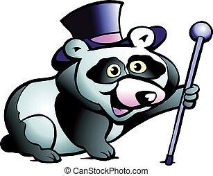 Panda Bear - Hand-drawn Vector illustration of an Panda Bear