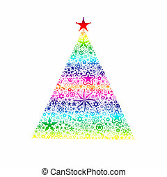 Christmas decoration - Colorful christmas decoration of...