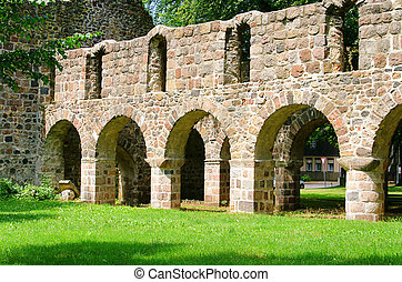 Loburg church ruin 05