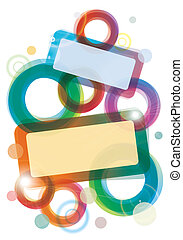 Colourful template - Abstract colourful template, element,...