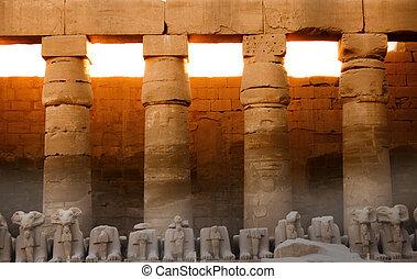 Ruins - Sunset ruins