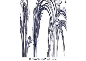 grey stalactites moving