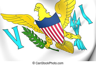 Virgin Islands of the United States flag