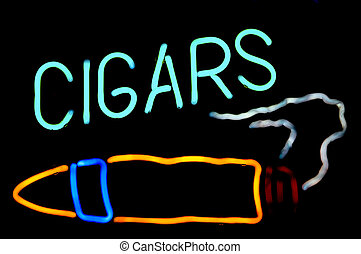 Cigars Neon Sign