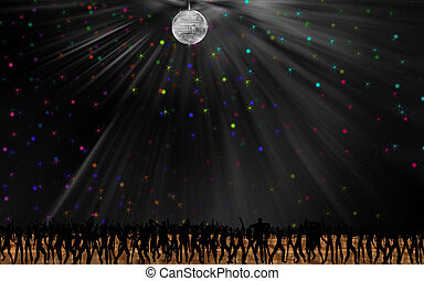 Dance the night away - Digitally created this image is...