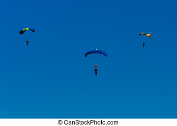 Three Parachutes