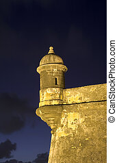 El Morro Old San Juan - Sentry Box at Old San Juan Fort San...