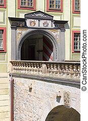 Drawbridge in Weesenstein Castle
