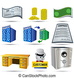 Accounting Icons Set 3