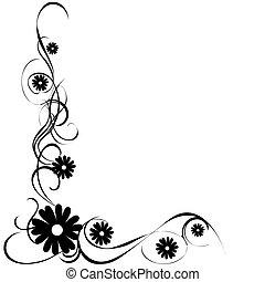 Floral background image.