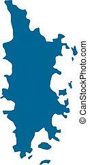 Phuket - Landkarte Phuket